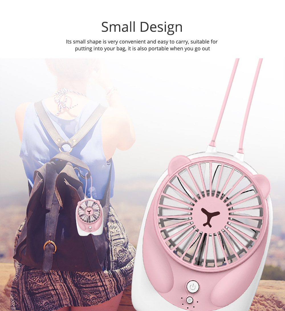 Mini Handheld Fan Chargeable Portable Personal Small Fan with USB Rechargeable  4