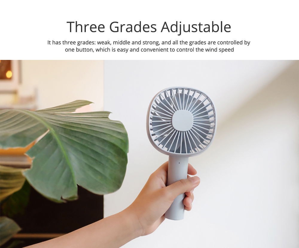 Mini Pet Handheld Fan Oscillating Small Portable Fan with USB Chargeable for Office Table Home Dormitory 4