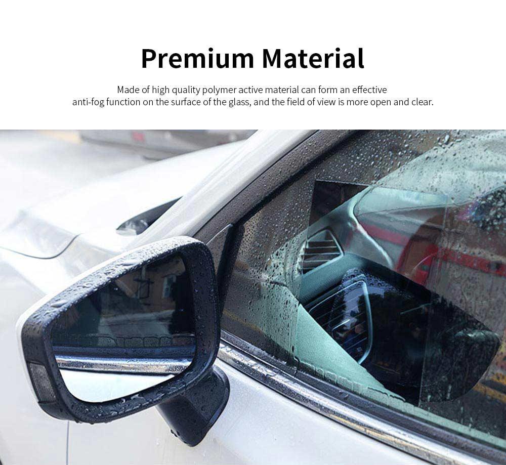 Car Anti Fog Film Anti-Mist Anti-Glare Mirror Waterproof Car Side Mirror Window Protector Film for Toyota Camry RAV4 Highlander PRADO COROLLA 3