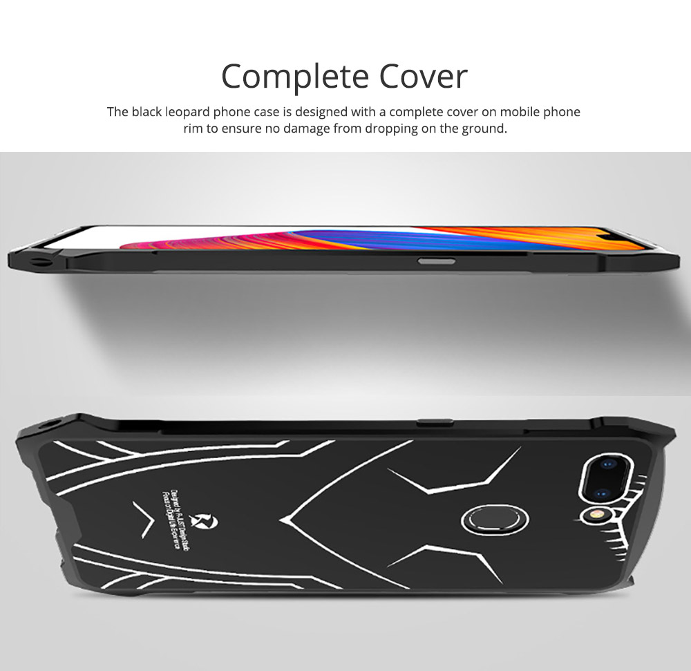 New-style Phone Case OPPO R15 Phone Cover Creative VIVO X21 Mobile Phone Protective Case PC Metal Phone Case Handset Accessories 4