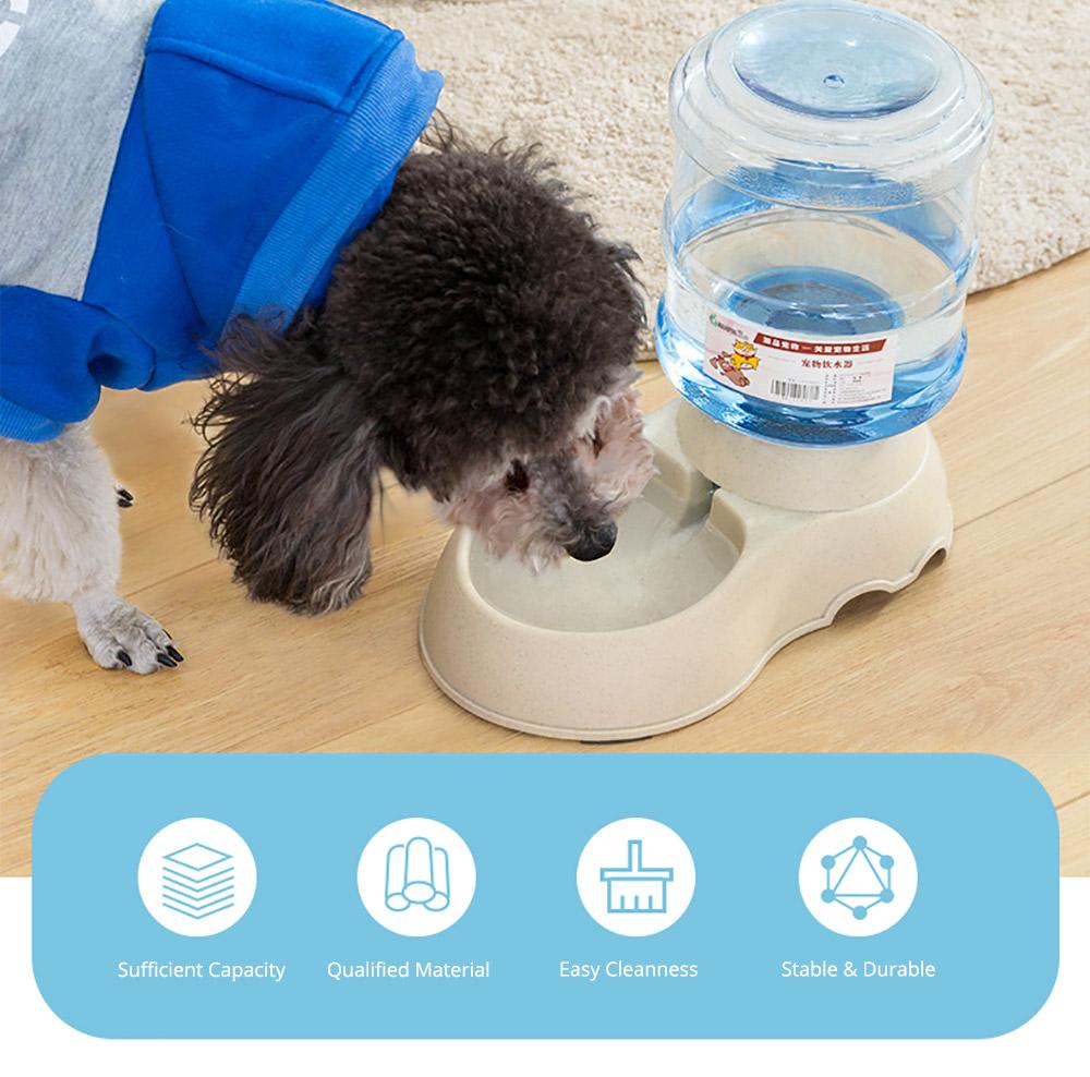 Autonomic Pet Feeder Drinking Fountain for Dogs & Cats, Pet Feeder Waterer Autonomic Feeder, Autonomic Drinking Feeding Tools 1