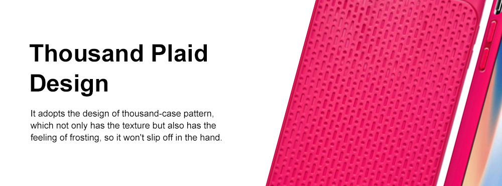 Non-slip Plaid Apple Phone Case with Total Package Side Design Separate Keys, Ultra-soft Silicone Phone Shell for iPhone XR or XS MAX 6.5 inch 4