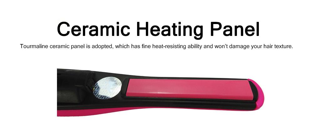 Mini Portable Wireless Hair Straightener Iron, Ceramic Glaze Coating Hair Care Shaping Heating Hairpin 1