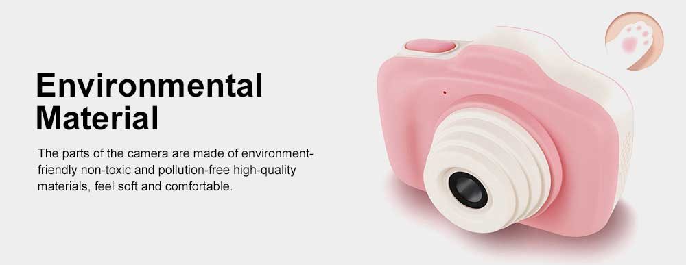 Digital Camera for 3-12 Years Old Children, HD Child Camera 2.3'' 1200W Pixel, Kids Digital Camera 4