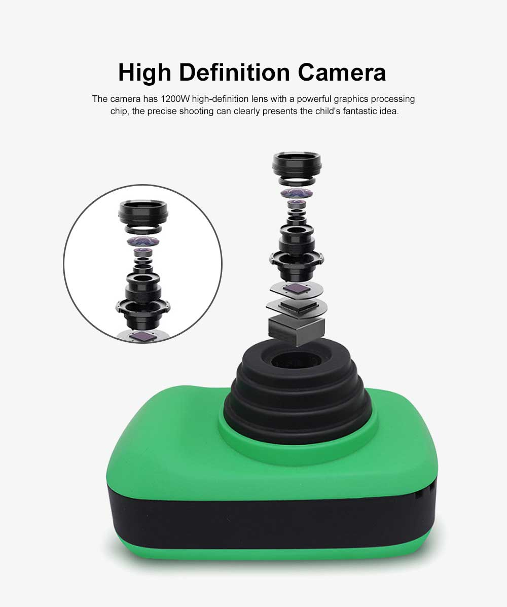 Digital Camera for 3-12 Years Old Children, HD Child Camera 2.3'' 1200W Pixel, Kids Digital Camera 1
