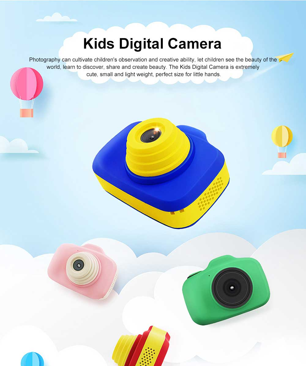 Digital Camera for 3-12 Years Old Children, HD Child Camera 2.3'' 1200W Pixel, Kids Digital Camera 0