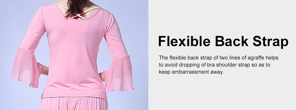 Skin-friendly Yoga Wear Suit, Loose Performance Wear Large Size, Loose Clothes Suit Fitness Dress Suit for Women 2019 3