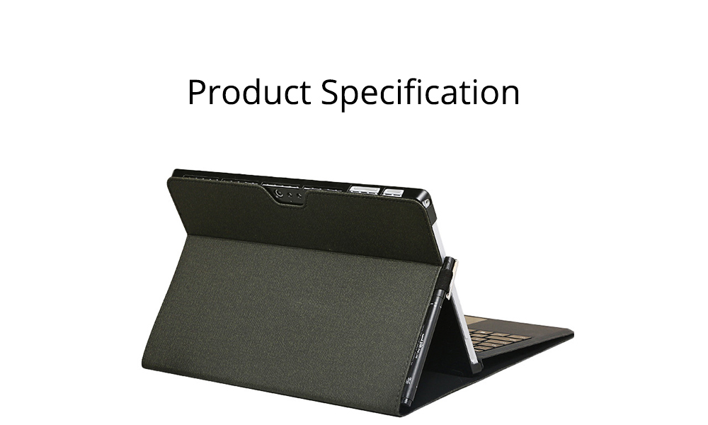 Tablet Protective Cover, Soft Anti-proof Waterproof Pro Case for Pro 4/5, 12.3 inch, Surface Pro3 12 inch, Surface Go, Surface Pro6 12.3inch Tablets Accessories 6