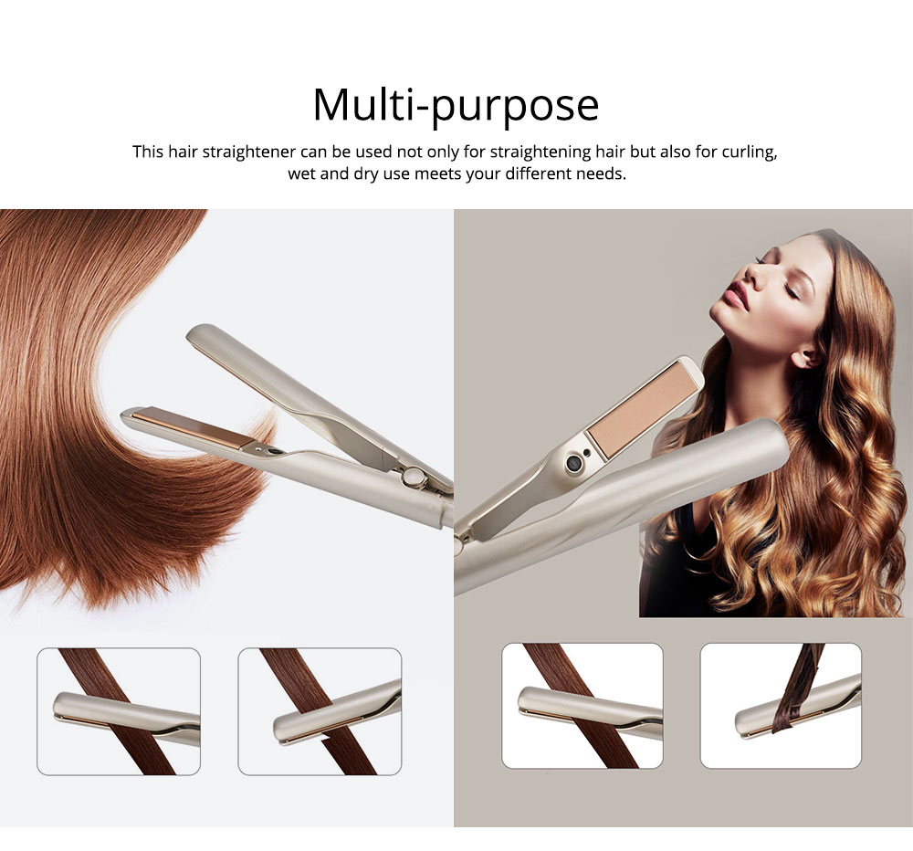 Hair Straightener with 5 Modes, Ceramic Fast Heating Flat Iron, Professional Hair Styler Tool  for All Hair Types 6