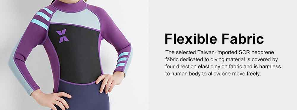 Diving Suit for Girls, 2.5MM One-piece Diving Dress, Thermal Diveing Surfing Dress Snorkeling Jumpsuit, Winter Swimsuit 2019 6
