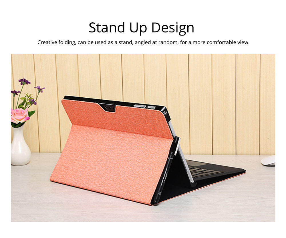 Tablet Protective Cover, Soft Anti-proof Waterproof Pro Case for Pro 4/5, 12.3 inch, Surface Pro3 12 inch, Surface Go, Surface Pro6 12.3inch Tablets Accessories 1