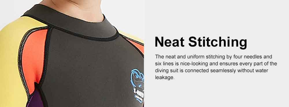 One-piece Boy Diving Suit, Long Sleeve Diving Clothes for Boys, Sunblock Swimsuits Snorkeling 2019 Spring Surfing Swimwear 6