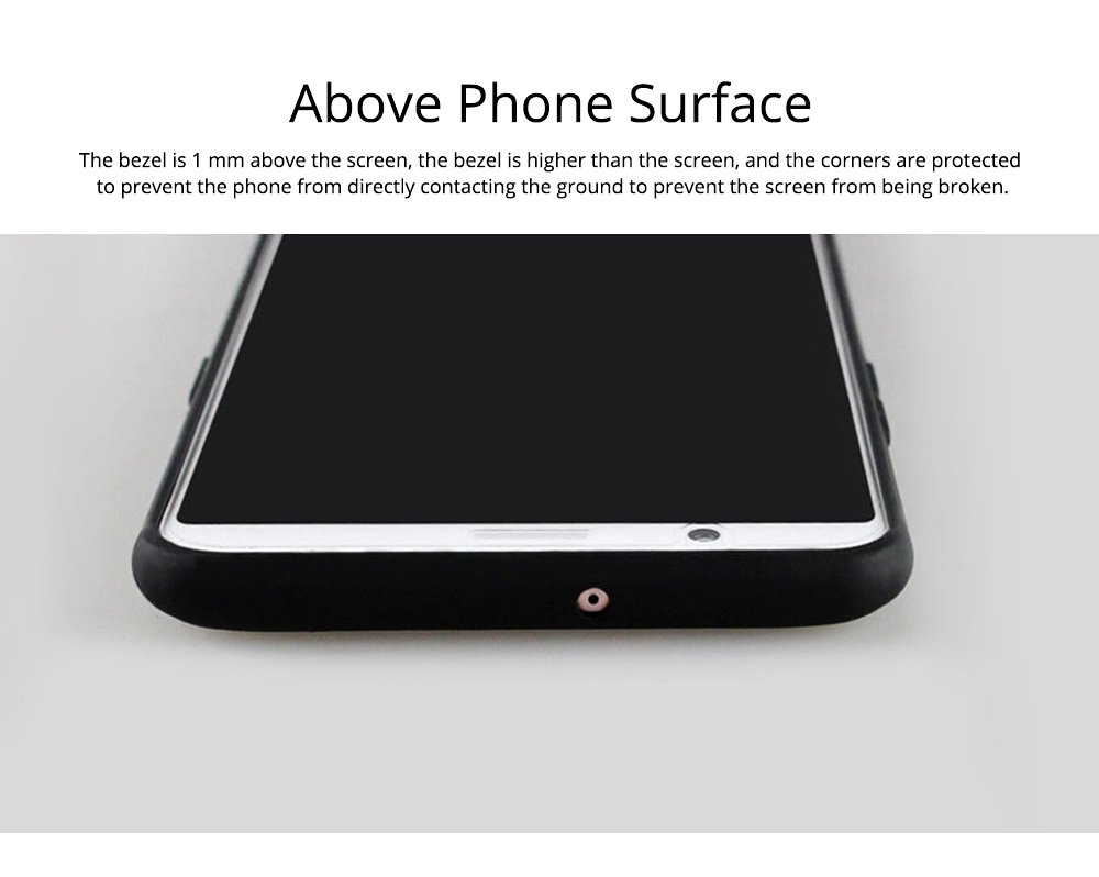 Soft Silicone TPU Cover Case, Thin Phone Protection Shell, Shock Absorption Soft Cover for Meizu 16S 2