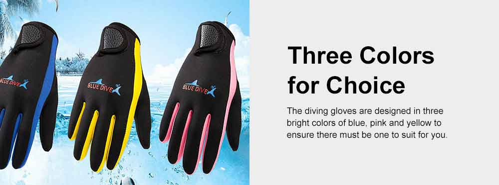Diving Gloves for Divers, Wear Resistant Diving-dedicated Gloves, Underwater Working Gloves for Snorkeling, Diving, Winter Swimming, Surfing  5