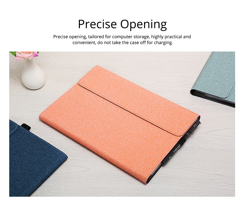 Tablet Protective Cover, Soft Anti-proof Waterproof Pro Case for Pro 4/5, 12.3 inch, Surface Pro3 12 inch, Surface Go, Surface Pro6 12.3inch Tablets Accessories 4