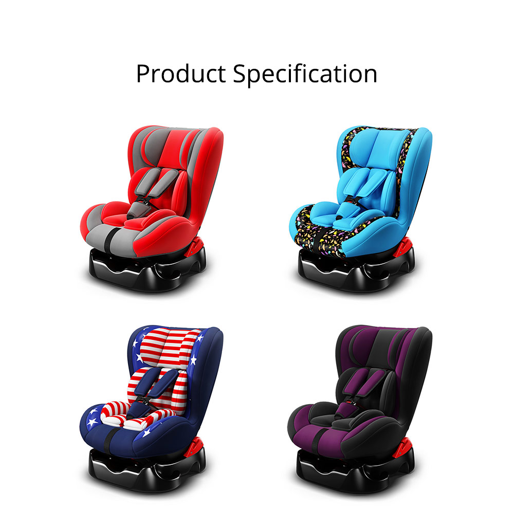 Children's Booster Seat Large Auto Car Seat Protectors for Child, Baby Safety Seat Thick Padding Car Seat 7