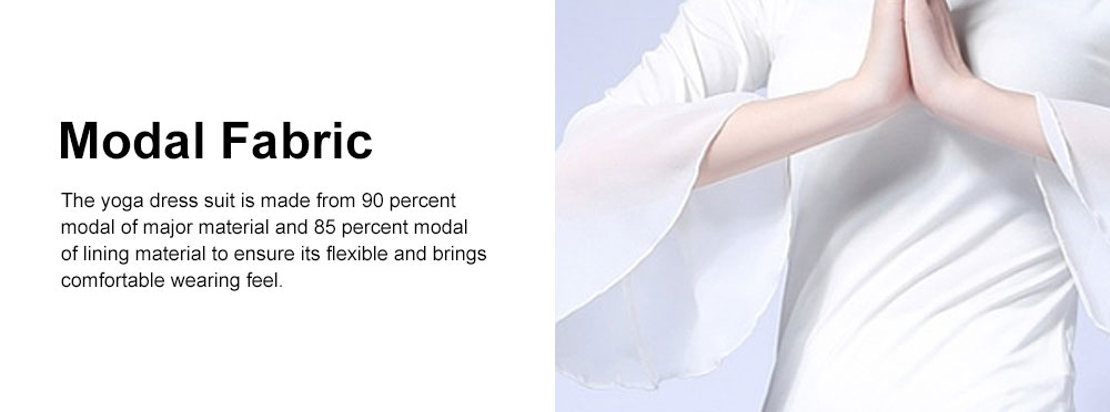 Skin-friendly Yoga Wear Suit, Loose Performance Wear Large Size, Loose Clothes Suit Fitness Dress Suit for Women 2019 2