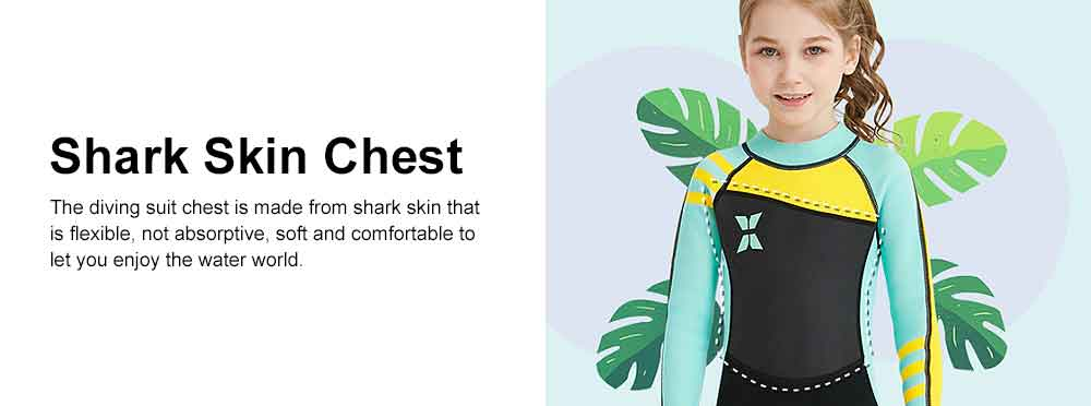 Diving Suit for Girls, 2.5MM One-piece Diving Dress, Thermal Diveing Surfing Dress Snorkeling Jumpsuit, Winter Swimsuit 2019 5