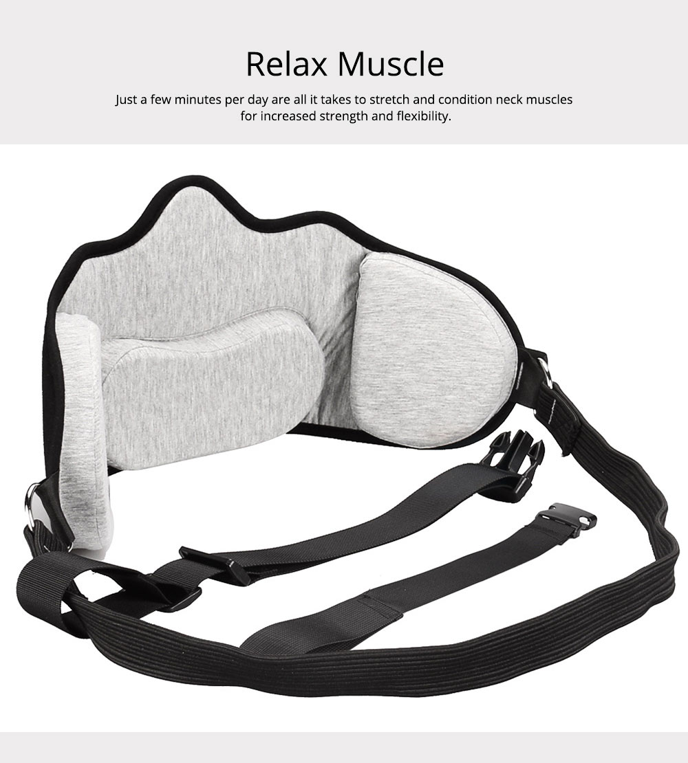 Neck Hammock Cervical Traction Device, Head Hammock for Neck Pain Relief for Office Workers, Drivers, Students, Teachers 2