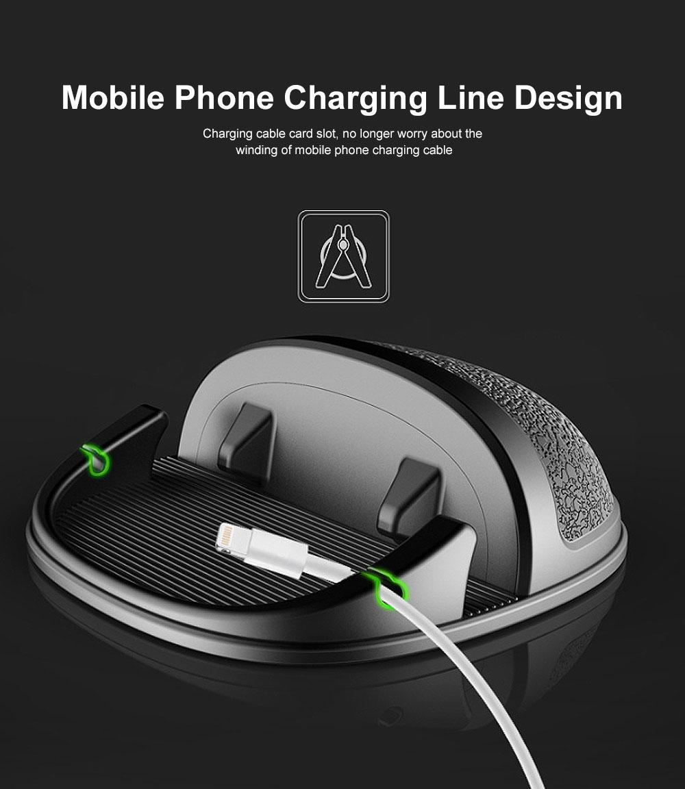 New Car Phone Rack, Vehicle-mounted Holder Bracket for iPad, iPhone, Samsung, Silicone Mobile Phone Holder 6