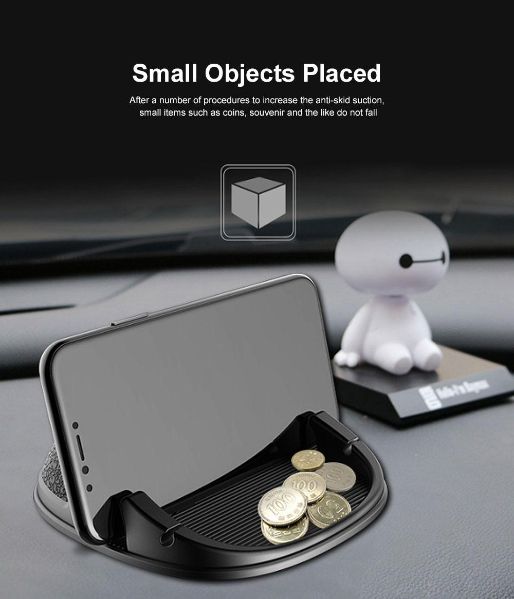 New Car Phone Rack, Vehicle-mounted Holder Bracket for iPad, iPhone, Samsung, Silicone Mobile Phone Holder 7