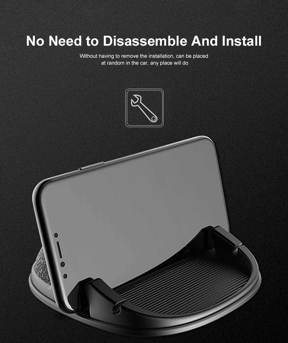 New Car Phone Rack, Vehicle-mounted Holder Bracket for iPad, iPhone, Samsung, Silicone Mobile Phone Holder 8