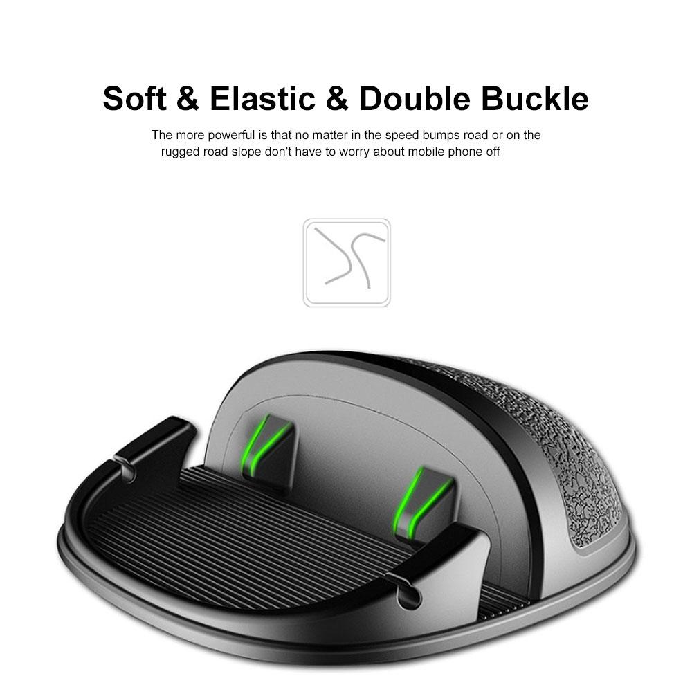 New Car Phone Rack, Vehicle-mounted Holder Bracket for iPad, iPhone, Samsung, Silicone Mobile Phone Holder 5