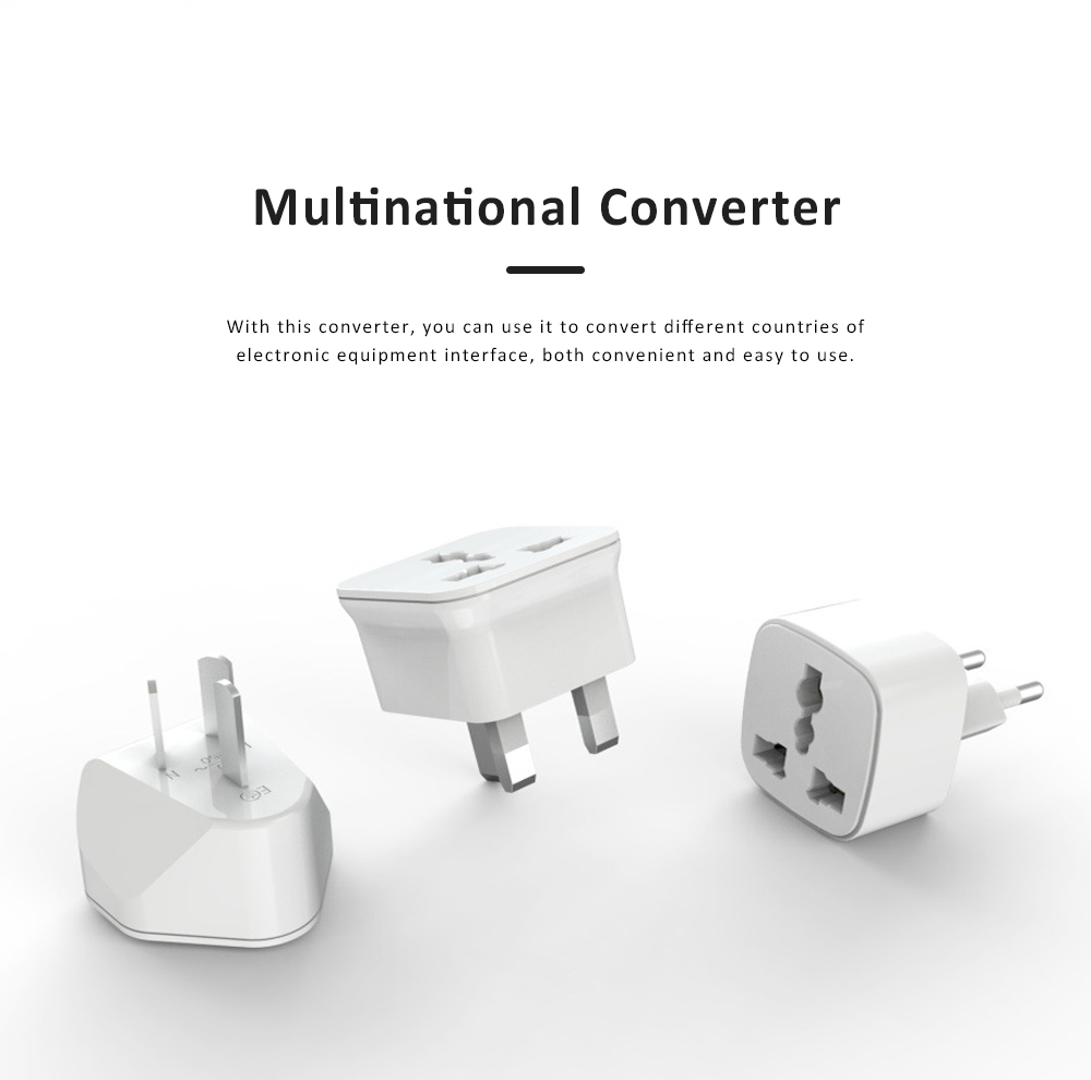 General Change-over Plug with Different Change-over Jacks, Small Portable Universal Travel Charging Plug 2