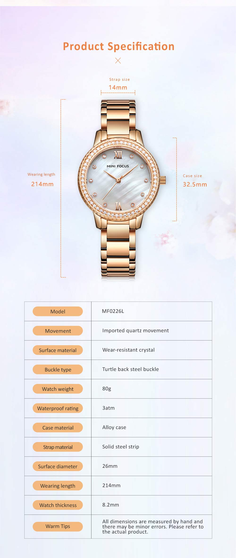 Trendy Luxury Diamond-studded Ladies Watch Fashion Business Steel Strap Women's Watch 5