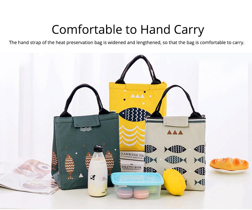 Unisex Heat Preservation Bag for Women Thickened Aluminum Foil Large Size Waterproof Lunch Bento Insulation Bag Handbag 3
