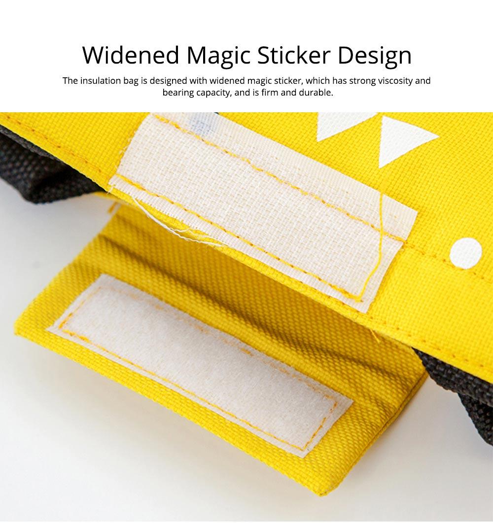 Unisex Heat Preservation Bag for Women Thickened Aluminum Foil Large Size Waterproof Lunch Bento Insulation Bag Handbag 2