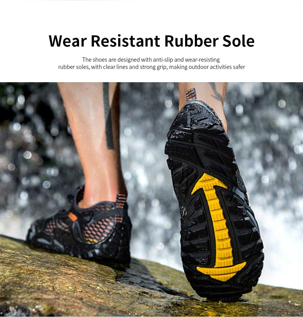 Breathable Mountaineering Shoes for Men, Anti-Slip Hiking Shoes Comfortable & Durable Hiking Shoes 4