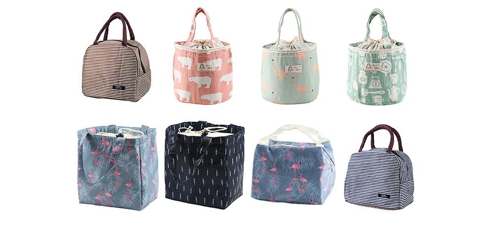 Unisex Heat Preservation Bag for Women Thickened Aluminum Foil Large Size Waterproof Lunch Bento Insulation Bag Handbag 8