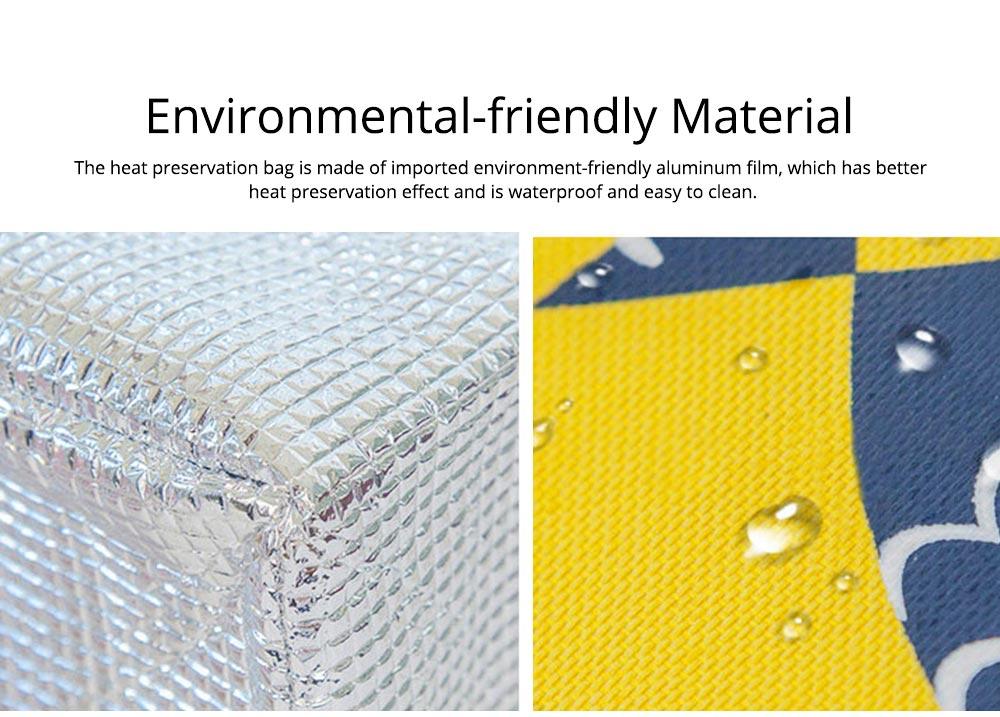 Unisex Heat Preservation Bag for Women Thickened Aluminum Foil Large Size Waterproof Lunch Bento Insulation Bag Handbag 1