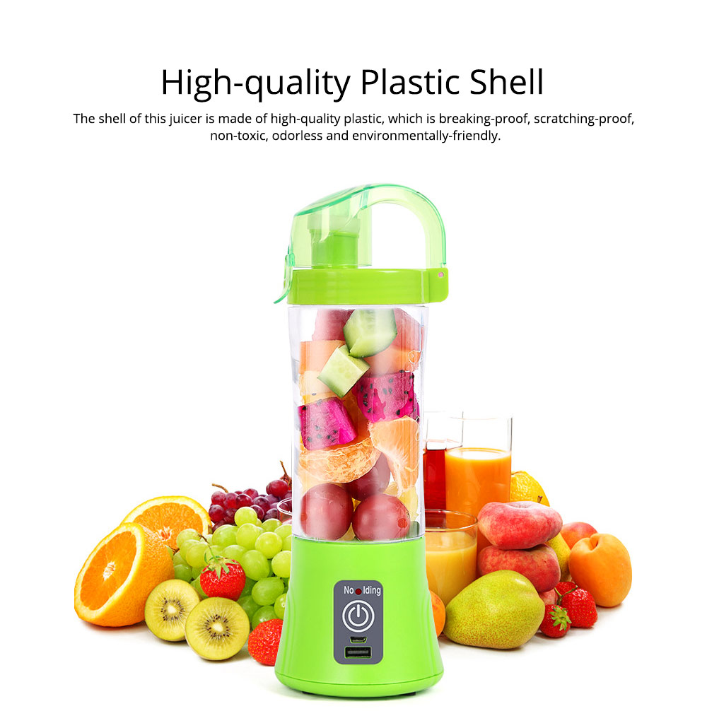 Portable Handy Household Electric Juicer, Multifunctional Juice Extractor Kitchen Tools with Power Bank Function 1