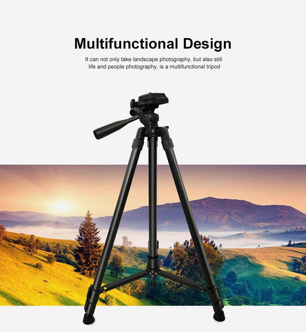 DSLR Camera Tripod with Horseshoe-shaped Design, Multifunctional Photography Camera Lightweight Portable Micro Tripod 1