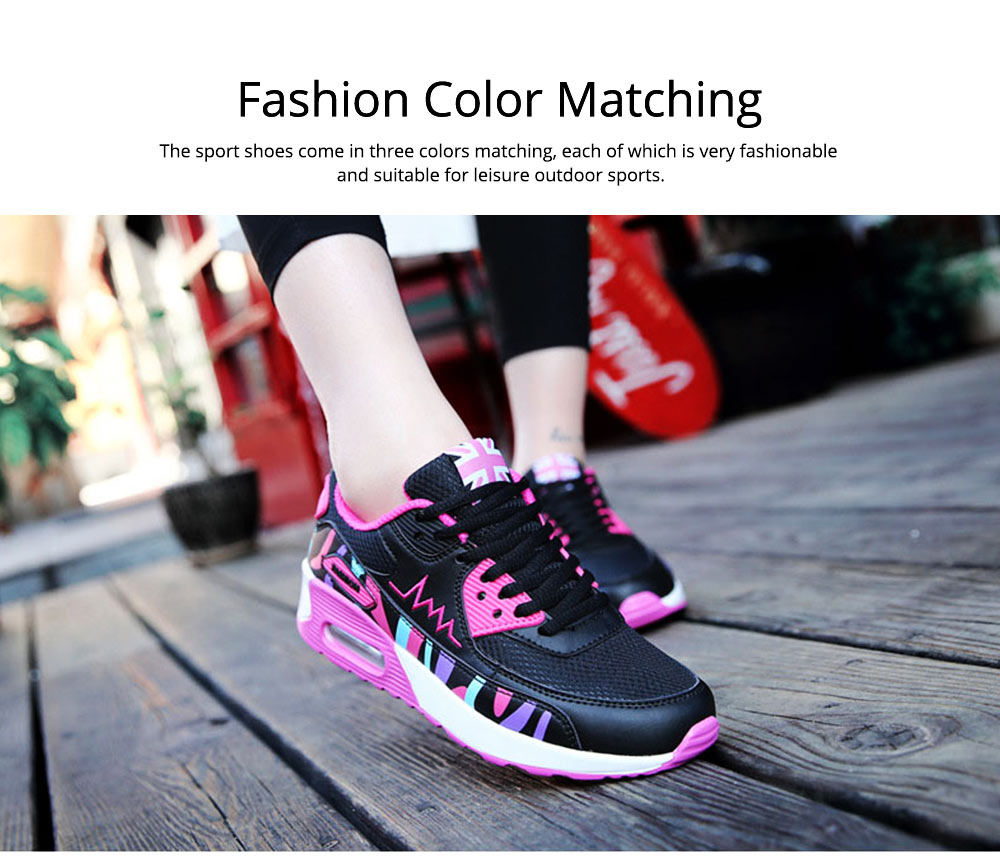 2019 Summer New Mesh Sport Shoes for Women Outdoors Leisure Fashion Travel Breathable Jogging Shoes Nude Shoes Sneakers 5