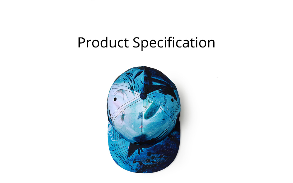 2019 Latest Baseball Cap for Men and Women, Neuter 3D Printing Style Outdoor Fashionable Hip Hop Cap Breathable 7