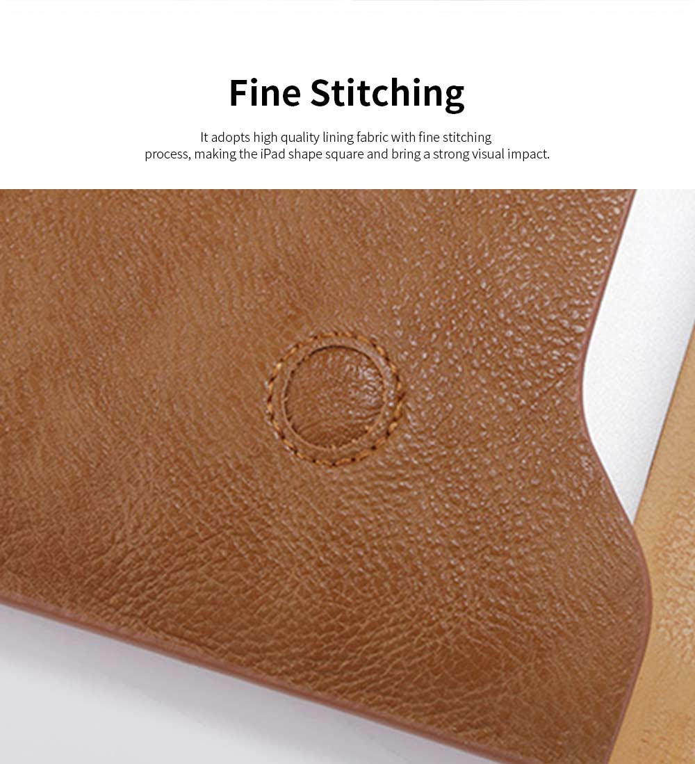 MacBook Pro Air Protective PU Case for Apple MacBook Air, Slim Lightweight Bag for Laptop, All-inside Synthetic Leather Sleeve for MacBook Air Pro 11 inch 12 inch 13 inch 15 inch 15.4inch 5