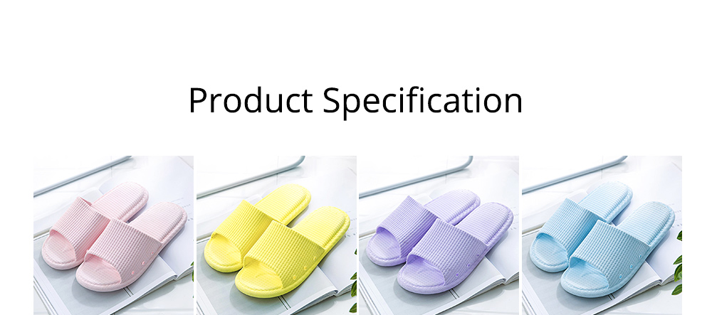 Summer Slippers PVC Anti-slip Soft for Couples Stain Resistant Comfortable Household Bathroom Slippers 2019 New 8