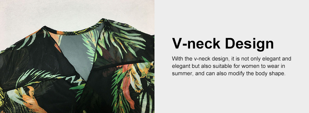 Comfortable & Ultra-soft Chiffon Long Sun Block for Beach Wear Bikini Tops for Women 3