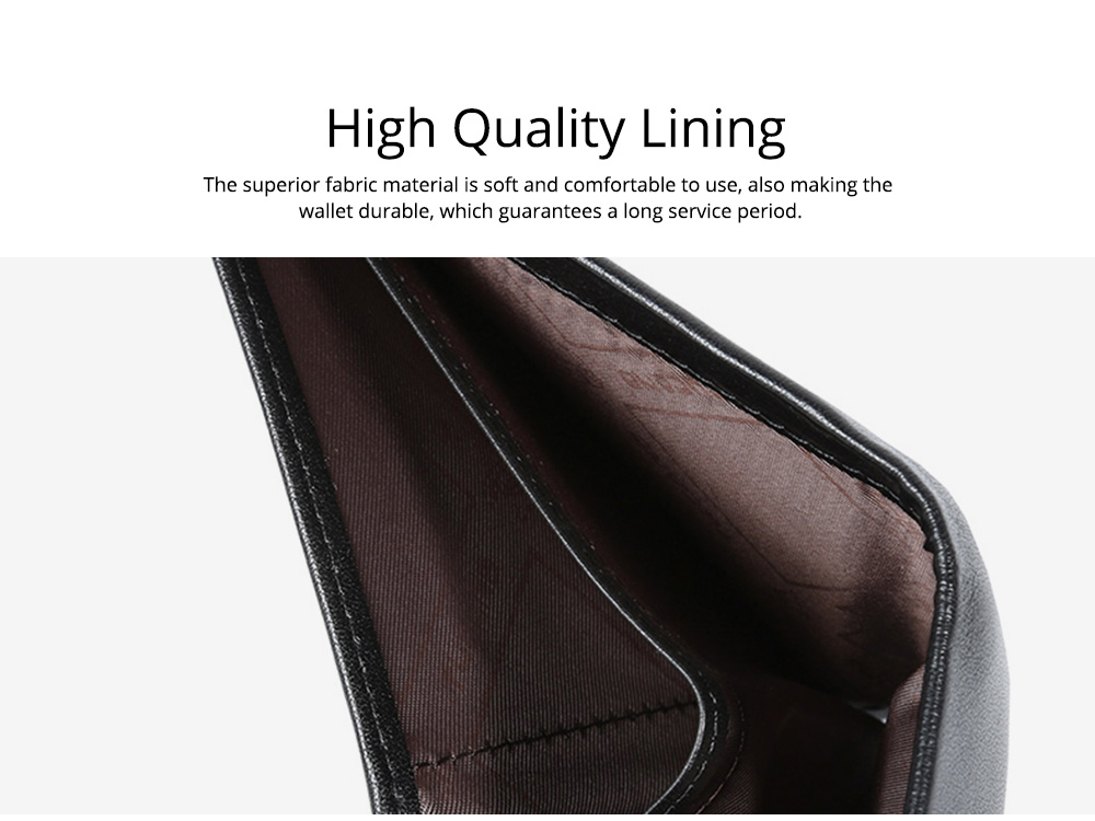 2019 Latest TUCANO Short Style Billfold for Young Men, Fashionable Genuine Leather Material Horizontal Wallet for Male 4