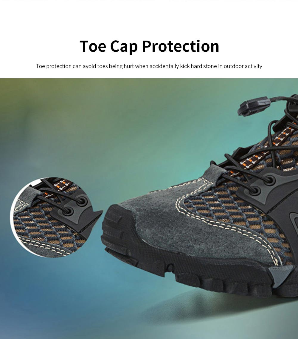 Breathable Mountaineering Shoes for Men, Anti-Slip Hiking Shoes Comfortable & Durable Hiking Shoes 1
