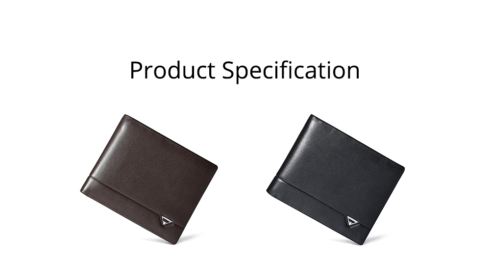2019 Latest TUCANO Short Style Billfold for Young Men, Fashionable Genuine Leather Material Horizontal Wallet for Male 6