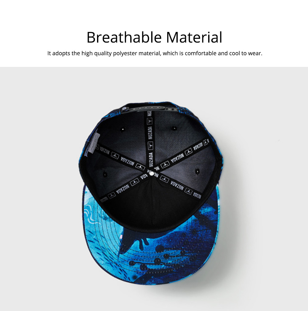 2019 Latest Baseball Cap for Men and Women, Neuter 3D Printing Style Outdoor Fashionable Hip Hop Cap Breathable 2
