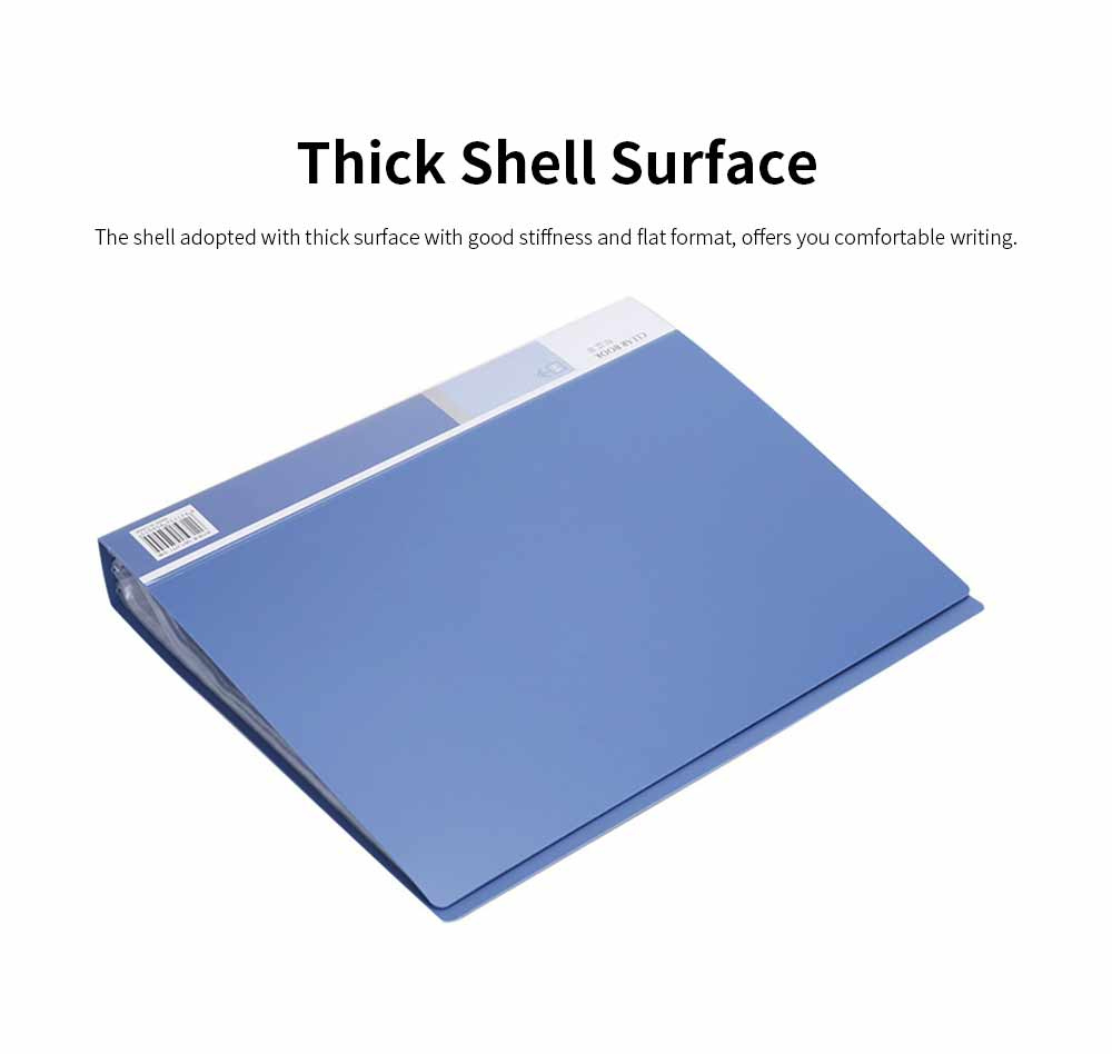 Waterproof File Folder for Students, Teachers Use, Paper File Organizer Office, Home, Essential, 60 Pages Documents Folder 1