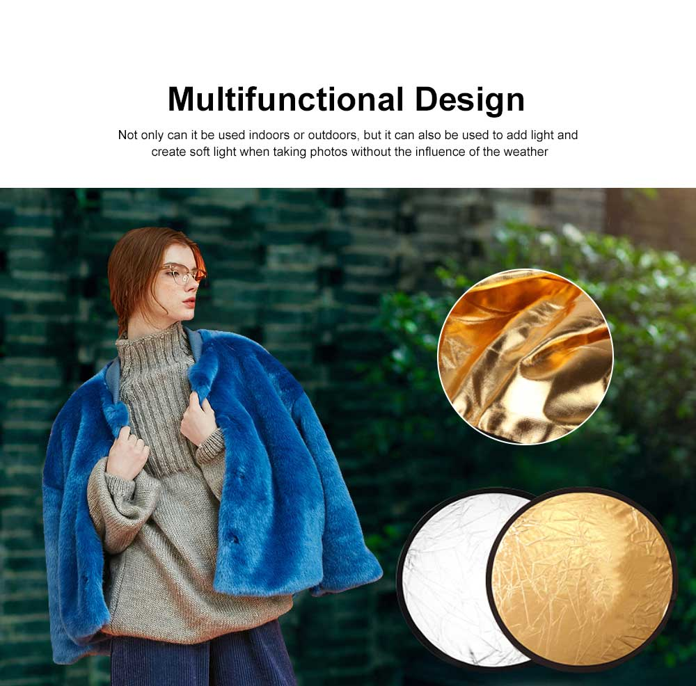 60 cm Multifunctional Reflector Soft Light Filling Photographic Equipment for Outdoor & Indoor Photo Shooting 1