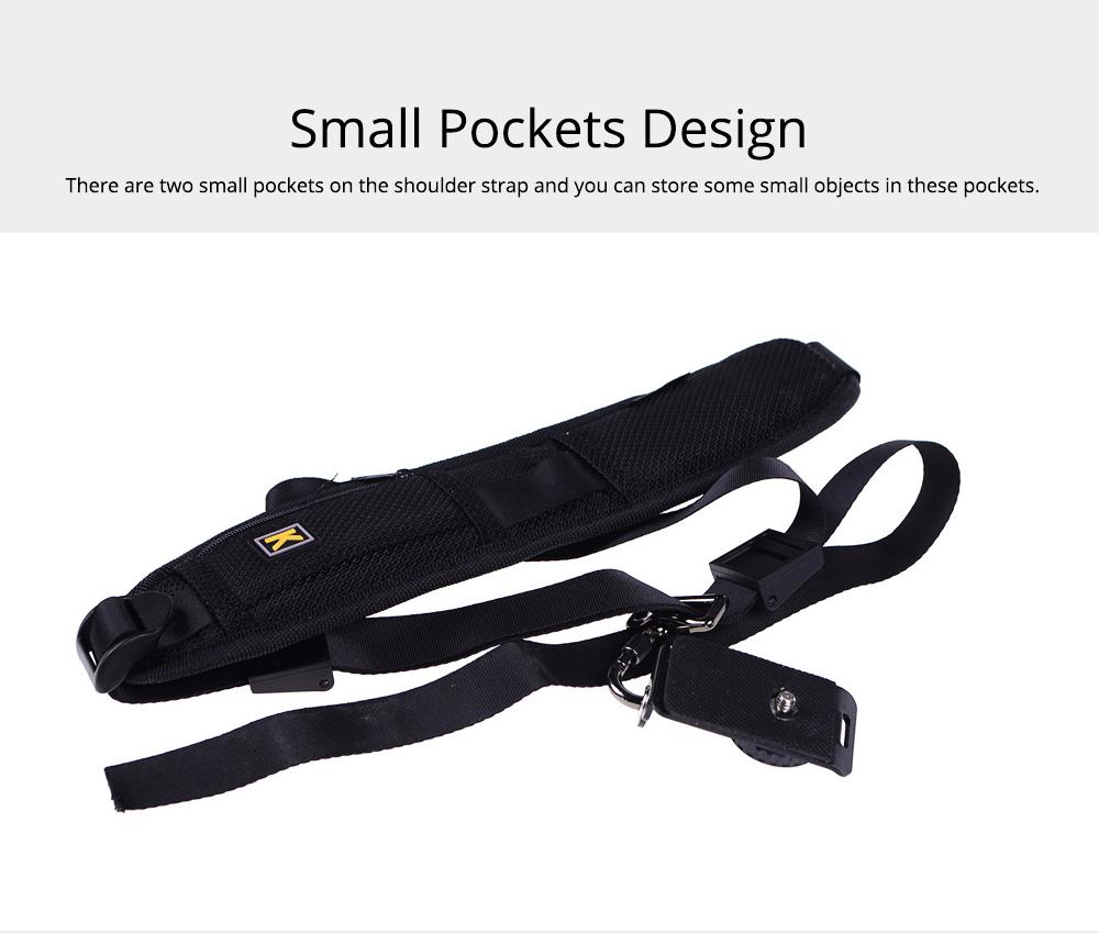 Minimalist Digital SLR Camera One Shoulder Strap, Professional Fix Single-lens Reflex Camera Shoulder Belt 3