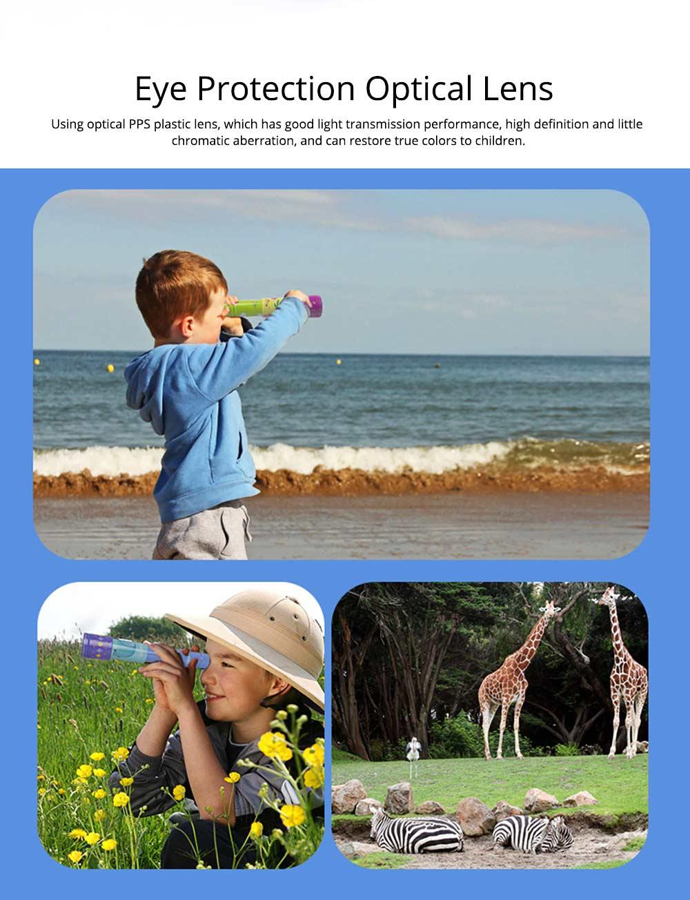 Explore Nature Children's Monocular Telescope, Iron Retractable Eyecare Toy, Adjustable Educational Science Toy 2