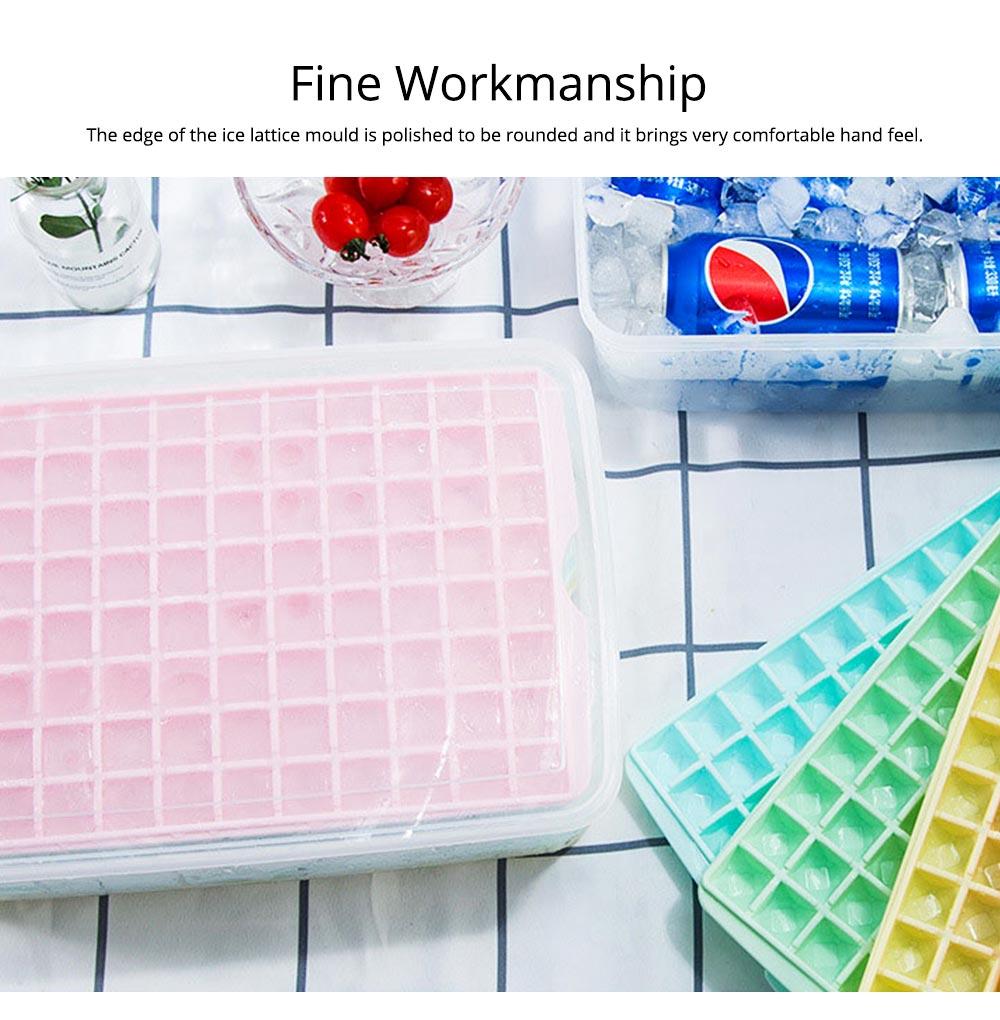 96 Grid Ice Lattice Mould with Cover, Sealed Crisper DIY Ice, Multiple Sub-box Ice Lattice Mold Ice-making Box 6